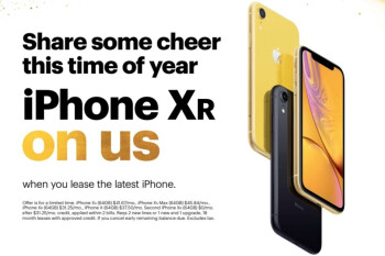 Sprint's Black Friday deals include free iPhone XR, free TV with LG V40 ThinQ, and big Galaxy Note 9 discounts
