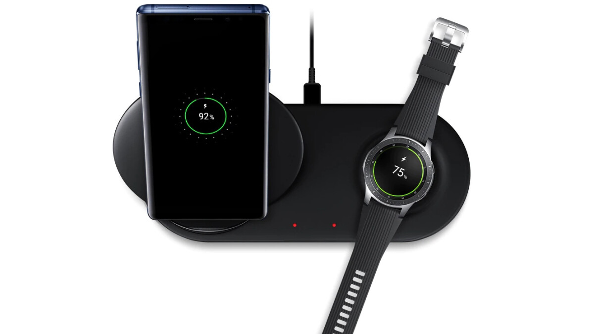 Samsung's Wireless Charger Duo comes bundled with a free Gear 360 camera at Best Buy right now