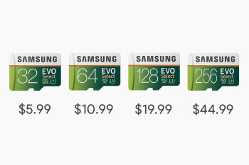 Samsung EVO microSD cards are going for as low as $5.99 on Amazon