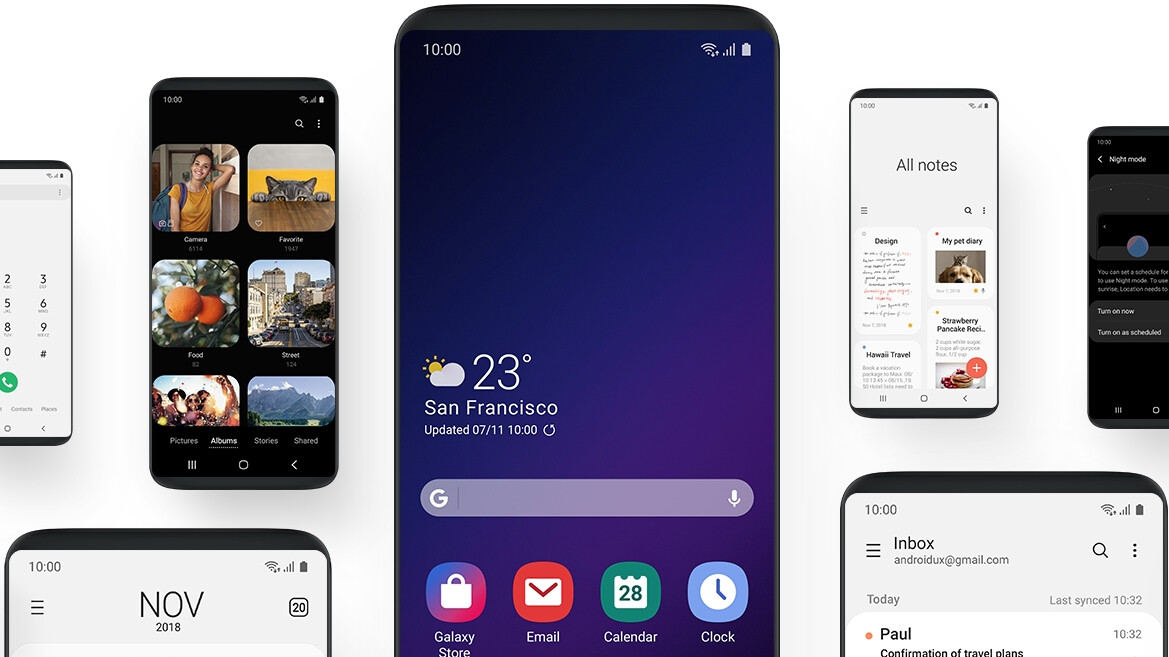 Samsung's new One UI lets you speed up Android Pie the classic way