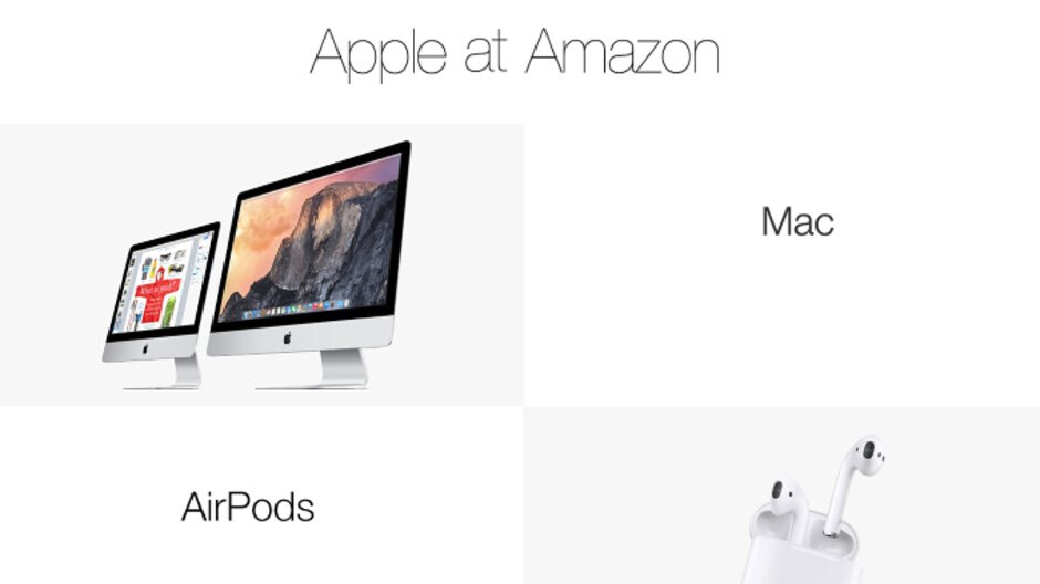 Apple's Authorized Reseller store is now available on Amazon