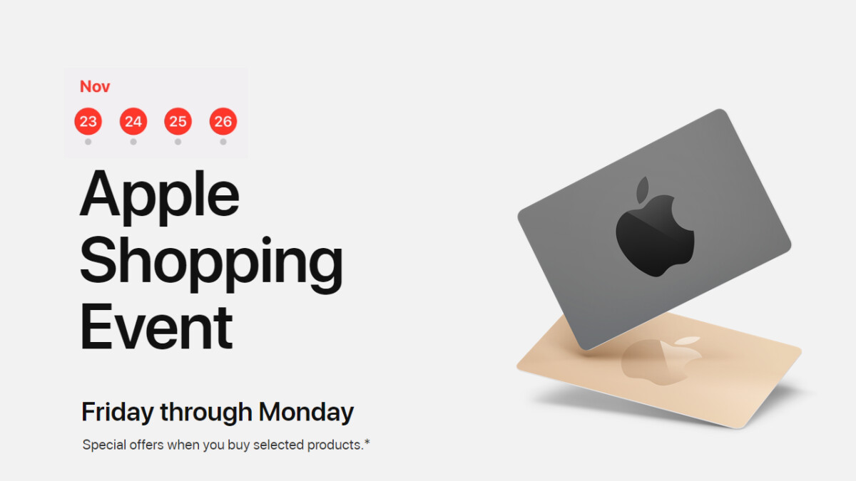 Apple's Black Friday shopping event begins in Australia, shows what offers to expect in the States