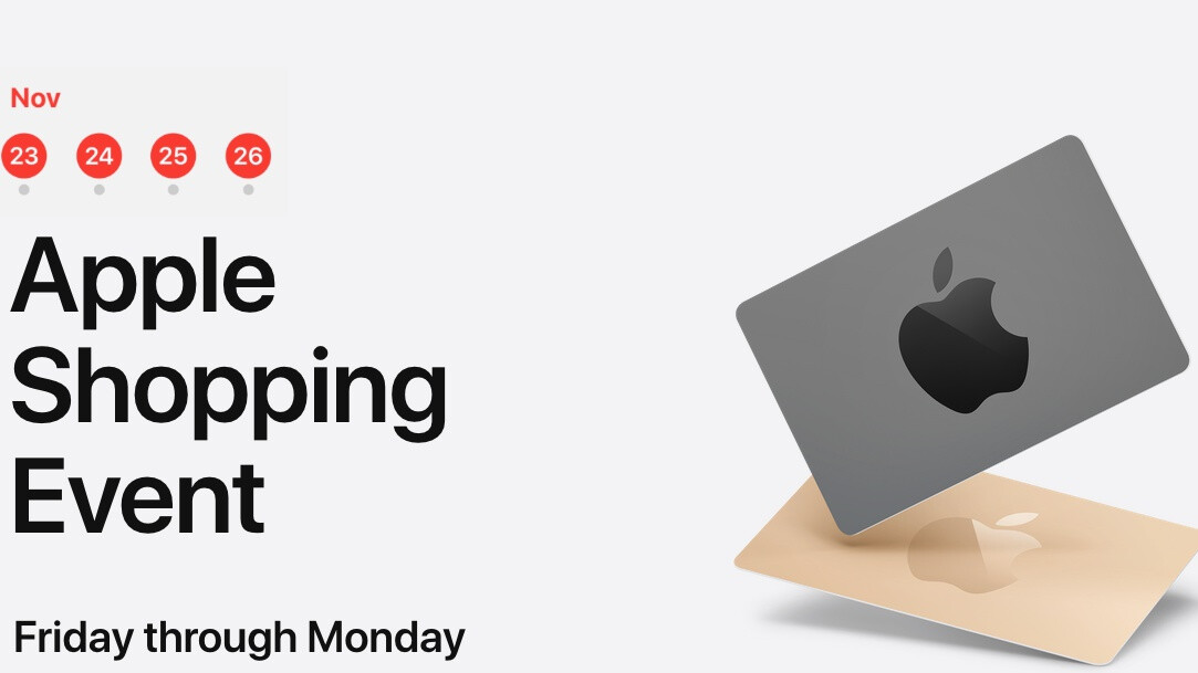 Apple's US Black Friday shopping event has gift cards galore for select iPhones, iPads, and more