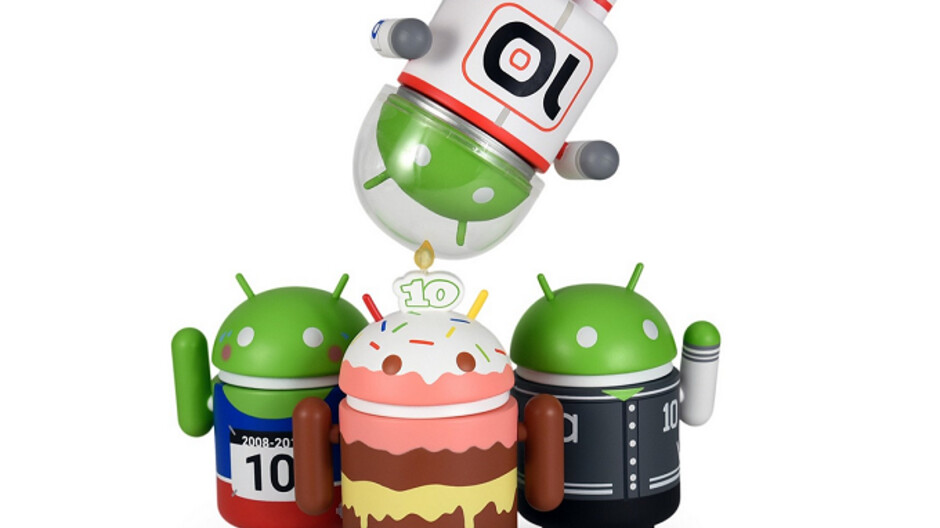 Dead Zebra's four new mini collectable figures celebrate a decade of Android