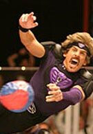 Samsung is attempting to set the record for the world's largest game of dodgeball