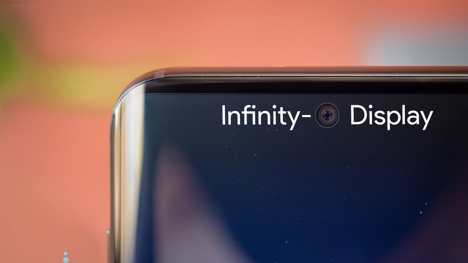 Huawei might be trying to beat Samsung to the 'Infinity-O' smartphone punch