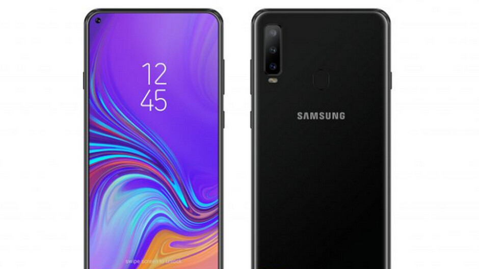Samsung Galaxy A8s to arrive with LCD Infinity-O panel made by BOE