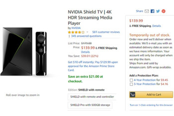 Deal: NVIDIA Shield TV drops to lowest price to date on Amazon