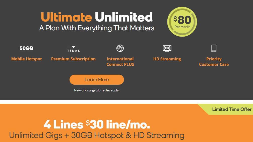 Unlimited Hotspot Plans >> Unlimited Boost Mobile Plans Price And Features Comparison