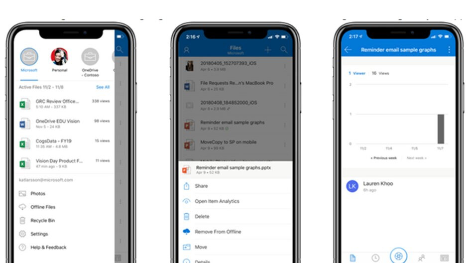 Microsoft announces new features coming to OneDrive in November