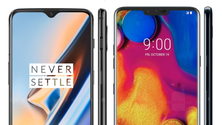 OnePlus 6T or LG V40: which one do you like better?