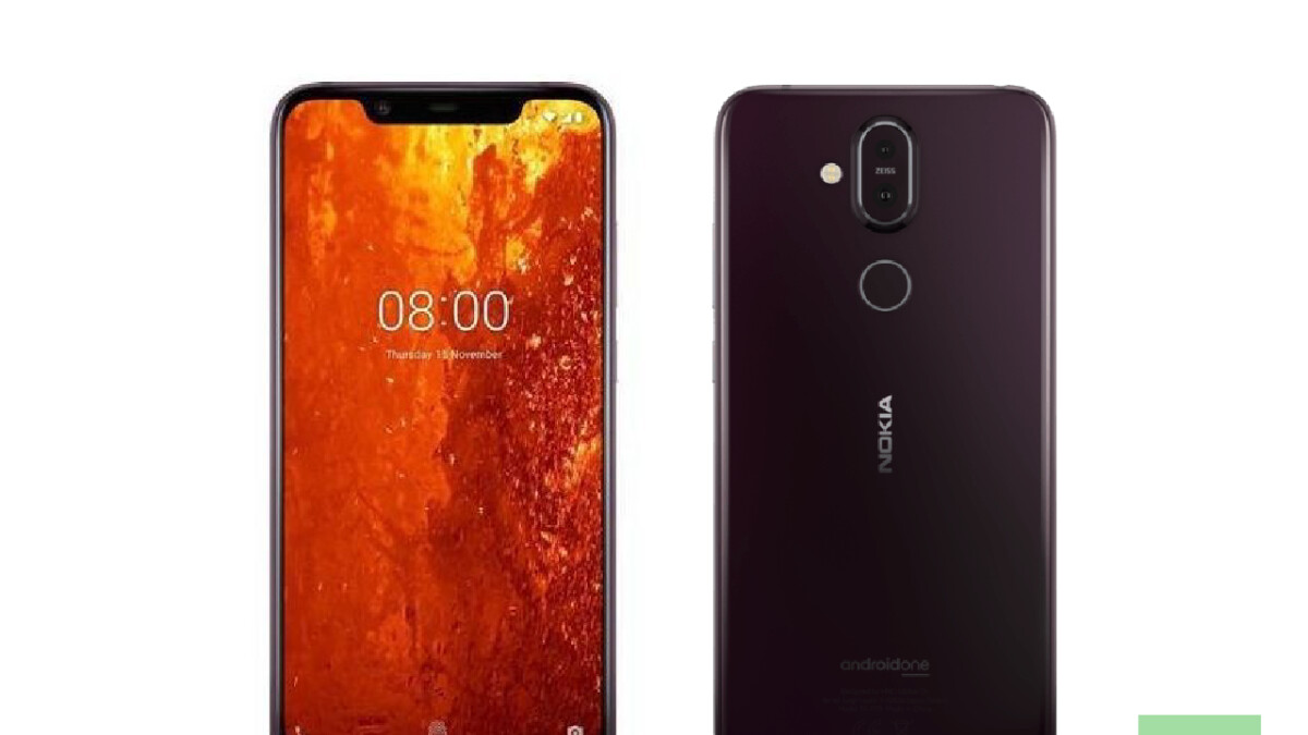 Leaked Nokia 8.1 marketing images reveal design and spec sheet