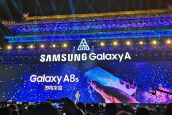 Leaked Galaxy A8s screenshot and S10 protector tell the tale of Samsung's Infinity-O display
