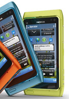The Nokia N8 with a 32GB version, battery hard to remove?