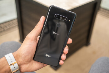 Get a free 49-inch 4K TV when you buy an LG V40 ThinQ at Sprint