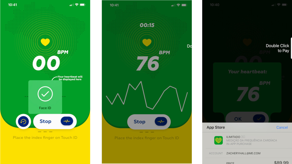 'Heart Rate' app scam shakes iPhone users out of $90 by taking pulse with Touch ID
