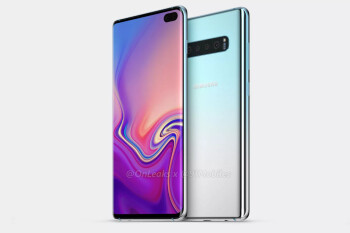 Samsung Galaxy S10+ renders showcase entire design, display hole included