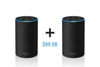 Deal: Grab two Amazon Echo speakers for just $99.98!