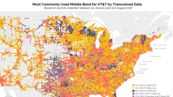 These Verizon, AT&T and T-Mobile LTE bands carry the heaviest data traffic
