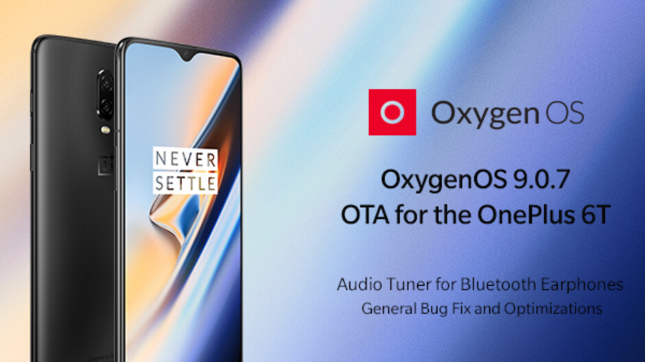OnePlus 6T new update brings audio and camera improvements, see what's new in OxygenOS 9.0.7