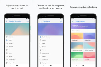 Pixel Sounds app in Play Store will offer new options for alarms, notifications and ringtones