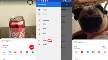 Google Lens update adds shortcut to your photo album and Google Drive