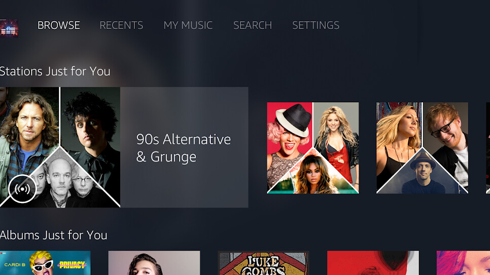 Amazon Music is coming soon to Android TV