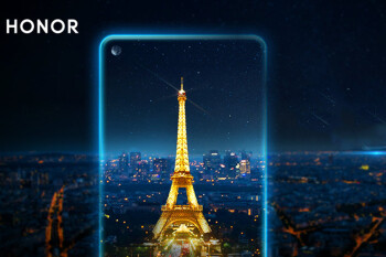 Honor teases a phone with a hole in the display for mid-January 2019