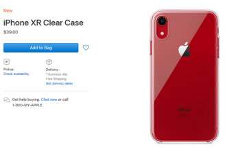 Apple finally releases its first official case for the iPhone XR
