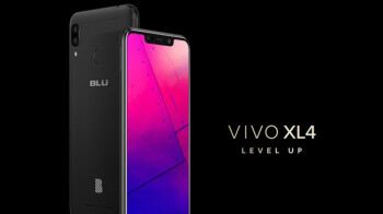 Affordable BLU Vivo XL4 goes official with huge notched display, massive battery