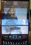 New picture of the BlackBerry Slider shows OS 6 on board
