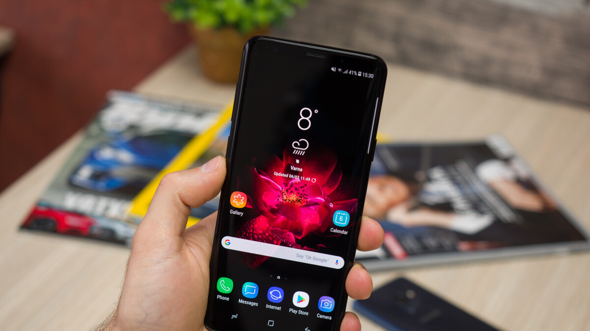 Get a Sprint Galaxy S9 for a total of $216 here!