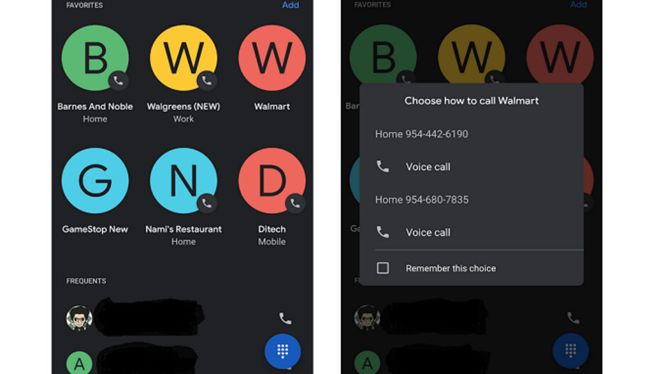 Google redesigns the Favorites UI for Android, replacing squares with circles and more