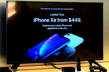 The newly aggressive 'iPhone XR for $449' marketing trickles down to all Apple Store displays