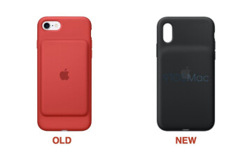 Apple Smart Battery Case for iPhone XS shows up with updated design