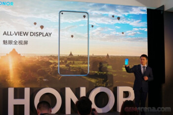 First phone with 48MP camera also has the trendy hole-in-display design