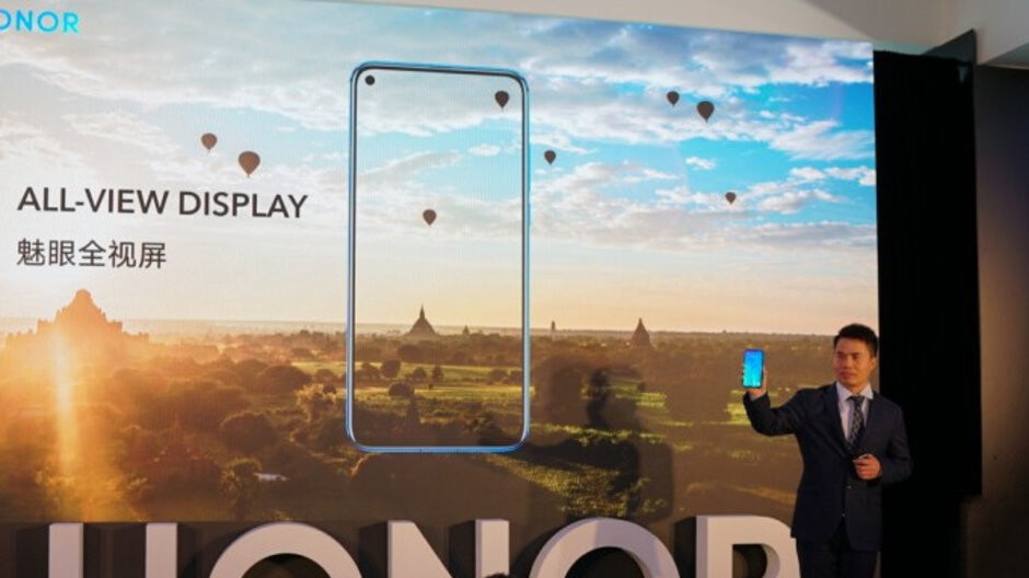 Honor View 20 revealed with in-display front and 48MP rear cameras