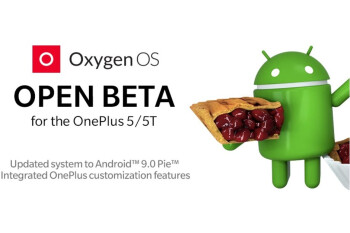 OnePlus 5 and OnePlus 5T get their first Android Pie-based open beta builds