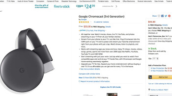 You can buy Chromecast devices from Amazon again, but Prime Video support is still MIA