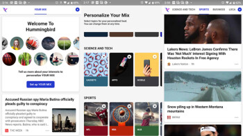 Microsoft's new Hummingbird app uses AI to deliver personalized news