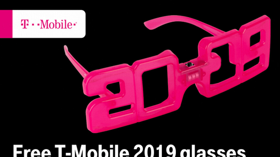 T-Mobile subscribers receive free 2019 novelty glasses this coming Tuesday