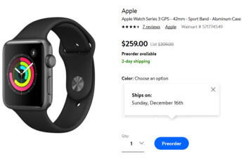Walmart has deals on the Apple Watch, Samsung Galaxy Watch and Fitbit Versa
