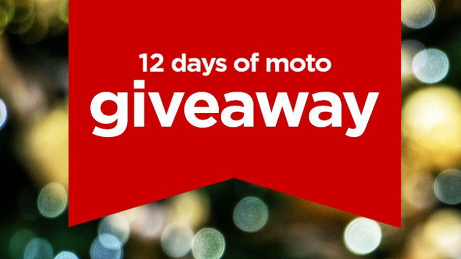 Win a free Moto product in the 12 Days of Moto Giveaway; today's prize is the Moto Z3 Play