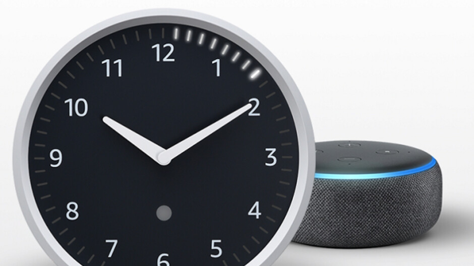 Check out Amazon's Echo Wall Clock, a $30 companion for the company's smart speakers