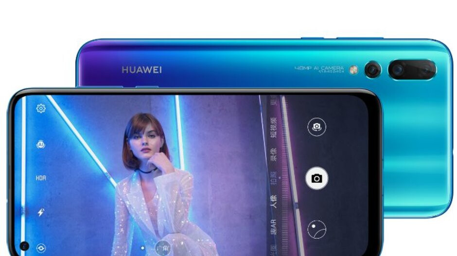 Huawei Nova 4 goes official with in-display 25MP camera, 48MP main rear shooter