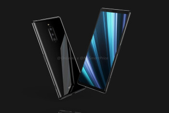 Is this how the Sony Xperia XZ4 is going to look? Alleged glass panel leak says