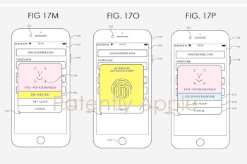 Future iPhone generations could combine Face ID and Touch ID technology