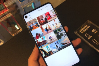 Hole in display all the way! Infinity-O is your favorite new 'all-screen' design (results)