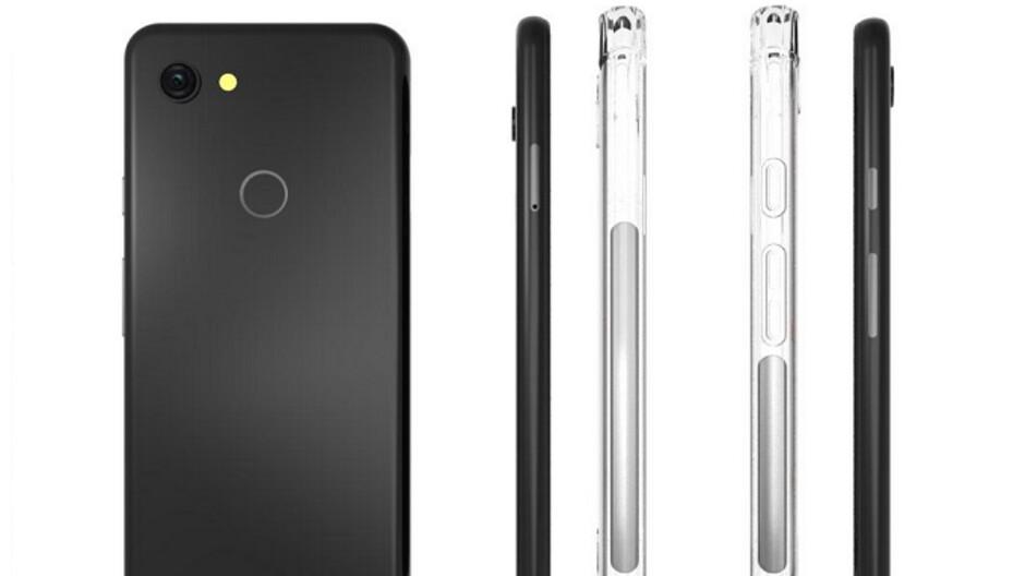 Images of Google Pixel 3 Lite cases leak