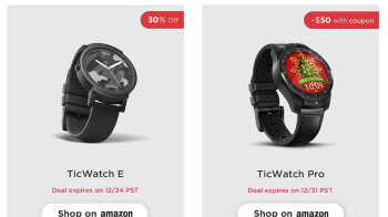 Mobvoi kicks off holiday sale with deals on TicWatch smartwatches, including the Pro